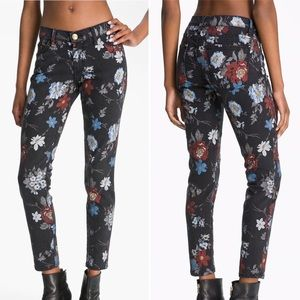 "NWT CURRENT/ELLIOTT ""The Stiletto"" Print Jeans"